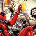 Deadpool comic n for nerds