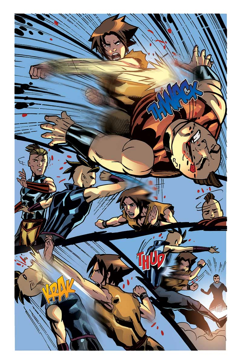 Fight Scenes Are Like Learning A Dance You Learn It Move: Tarik Comic Book Review