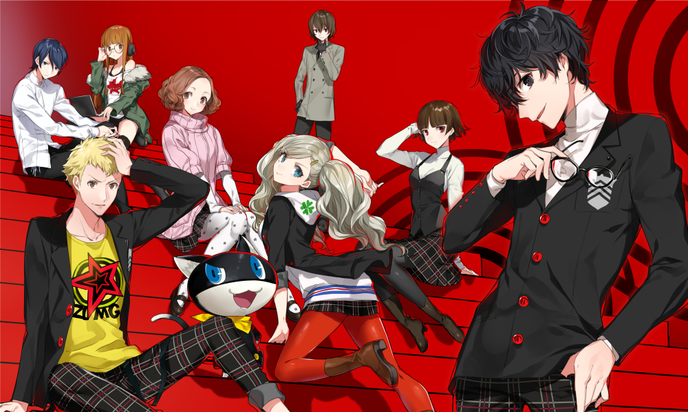 Persona 5 Group N for Nerds