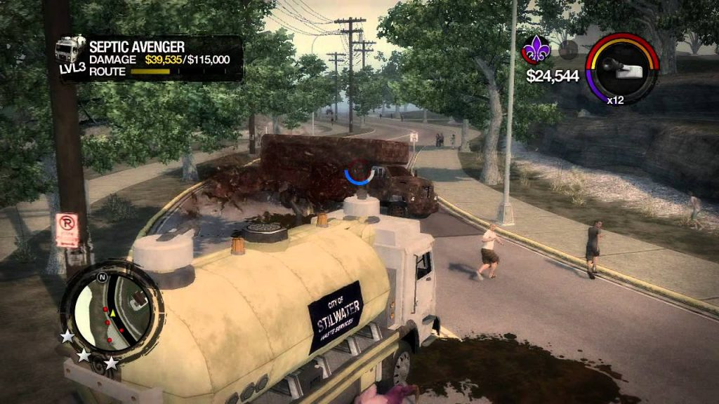 Saints row 2 Sewage Truck N for Nerds