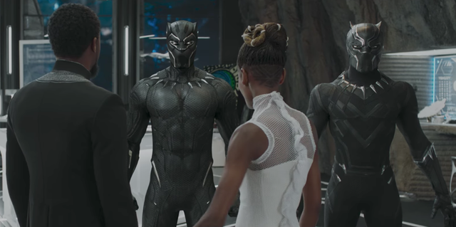 Black Panther Suits N For Nerds