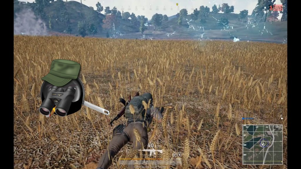 PUBG Wheat Field N For Nerds