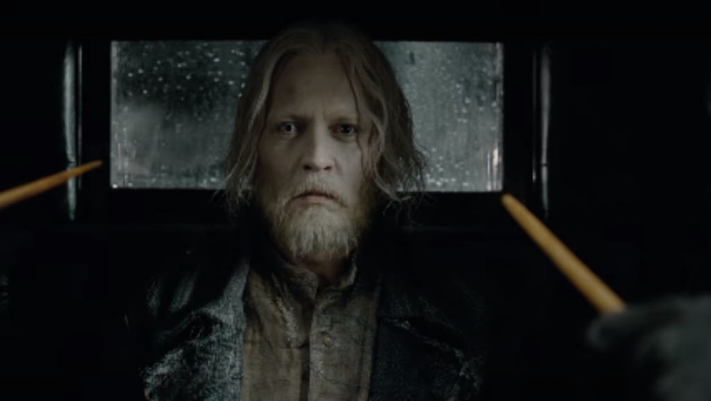 Grindelwald captive N For Nerds