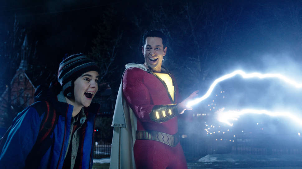 Shazam Powers N For Nerds