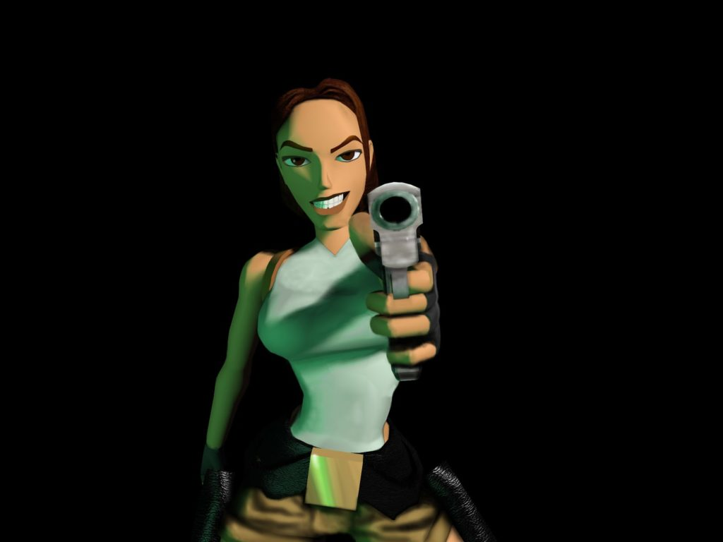 Lara Croft Tomb Raider N For Nerds
