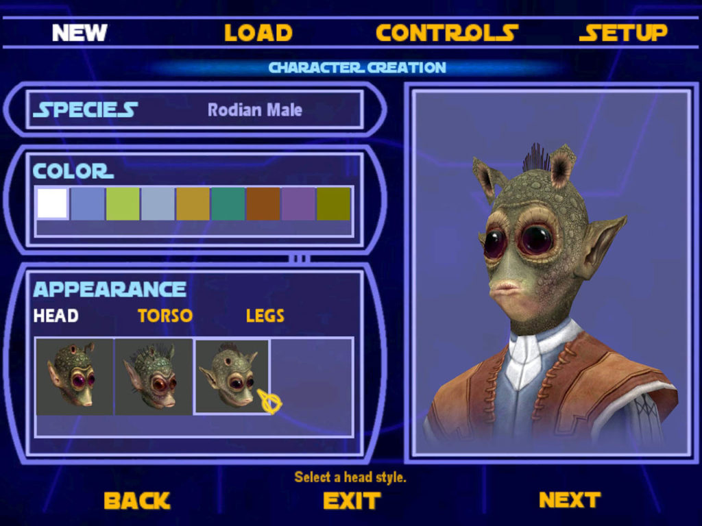 Star Wars Jedi Knight Fight Character N for Nerds