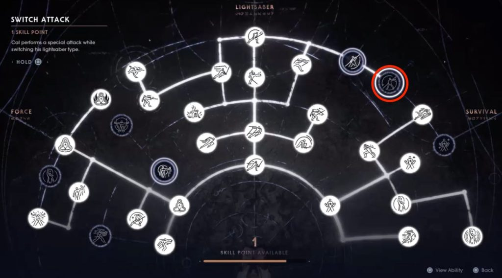 Jedi Fallen Order Skill Tree N For Nerds
