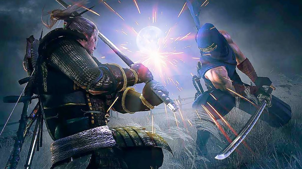 Nioh 2 beta Sword clash