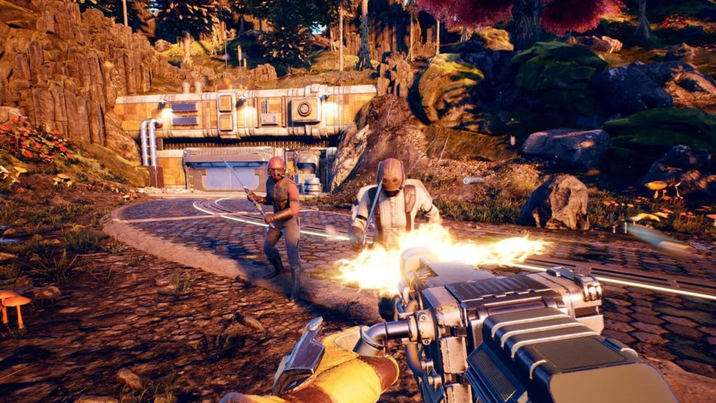 The Outer Worlds Guns N for Nerds