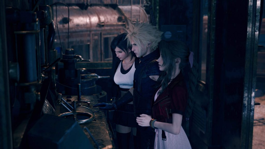 FF7 RE Cloud-Tifa-Areith N For Nerds