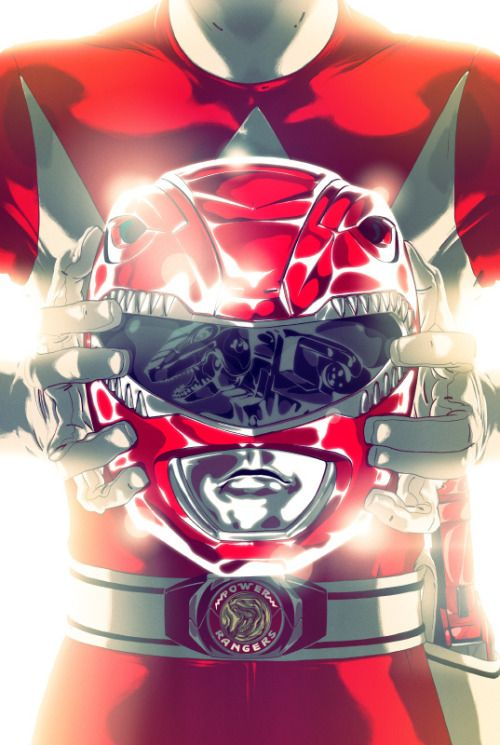 MMPR Red Ranger N For Nerds