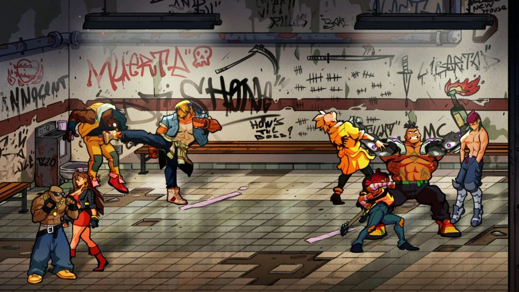Streets of Rage 4 Gameplay N For Nerds