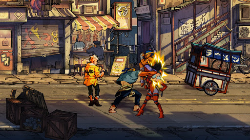 Streets of Rage 4 Punch N For Nerds