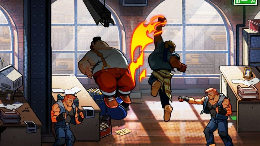 Streets of Rage 4 Uppercut N For Nerds