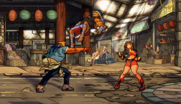 Streets of Rage 4 juggle N For Nerds