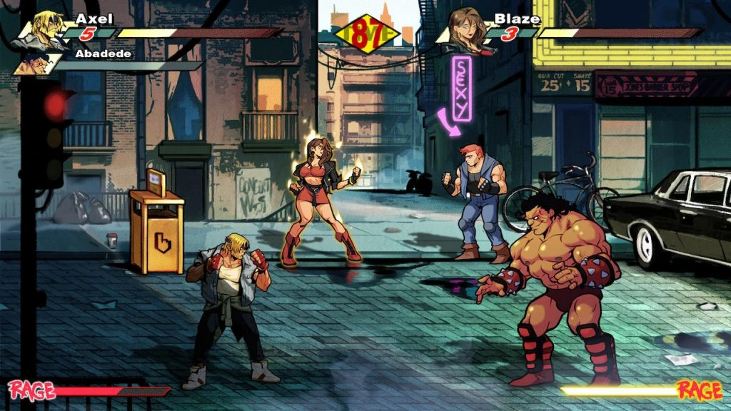 Streets of Rage Combat N For Nerds