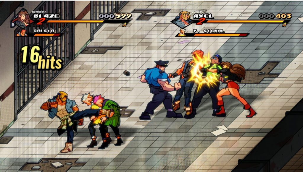 streets of rage 4 Combat N For Nerds