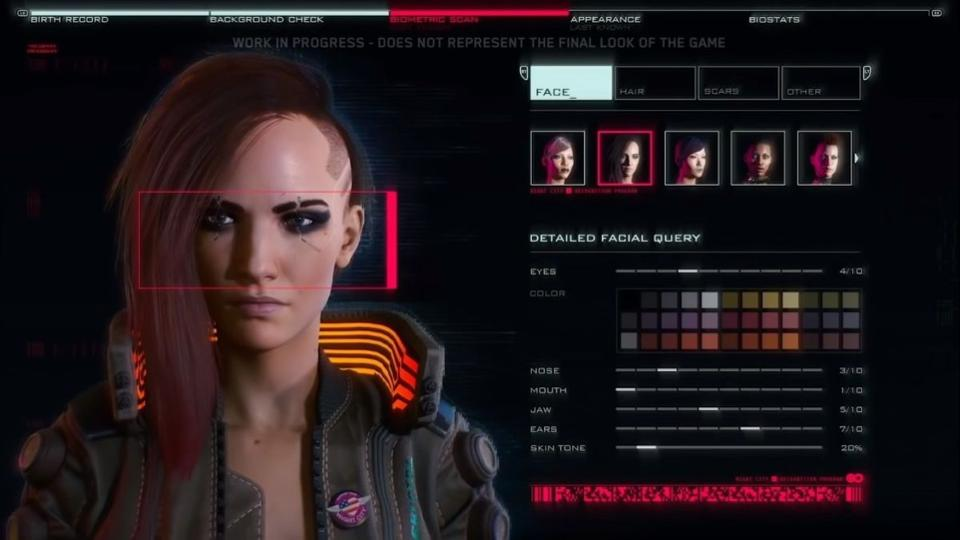 cyberpunk-2077 Character Creation N For Nerds