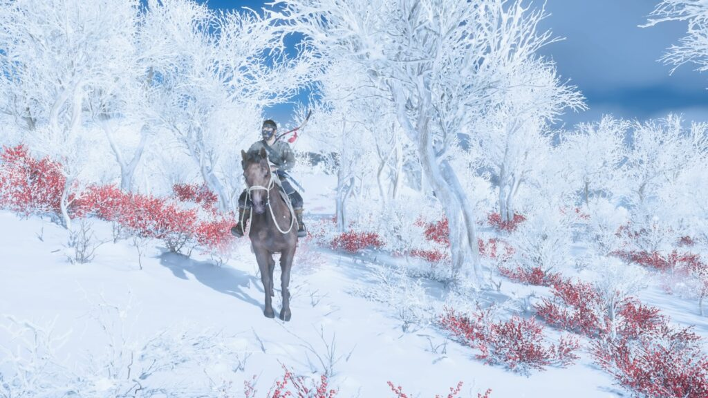 Ghost of Tsushima Snow