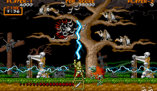 Ghouls N Ghosts Thunder N For Nerds
