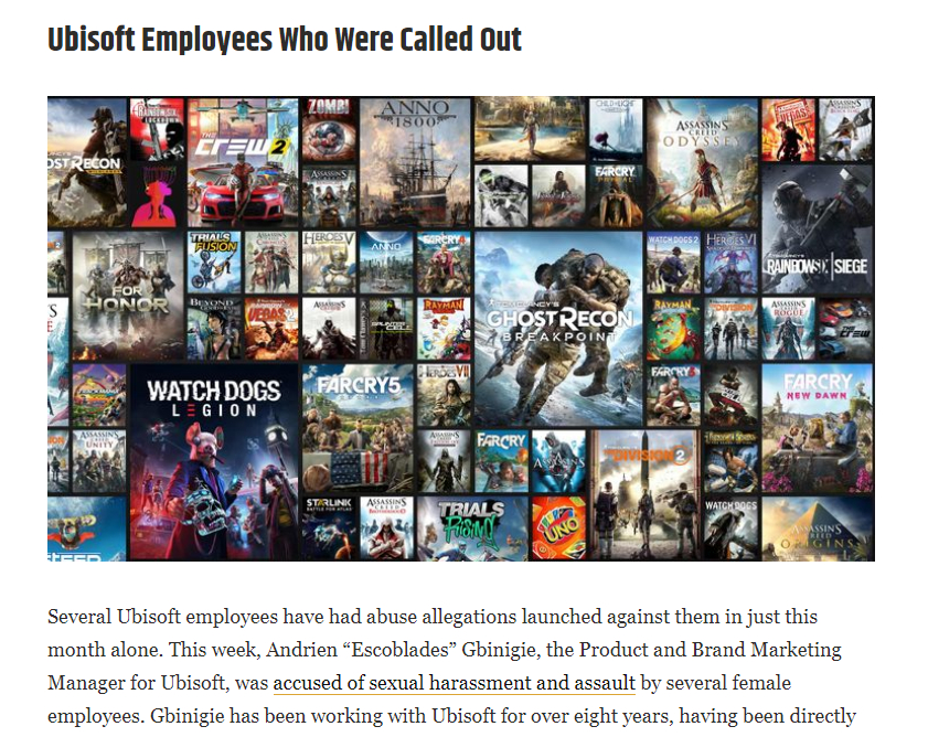 Ubisoft - Screen Rant N For Nerds