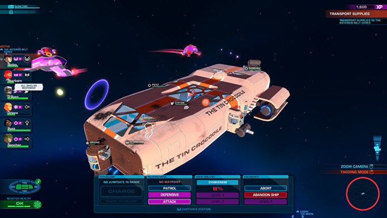 Space Crew Ship N For Nerds