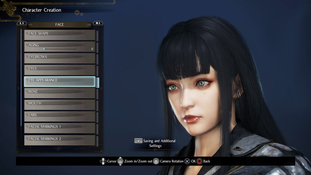 Nioh 2 Character Creation N for Nerds