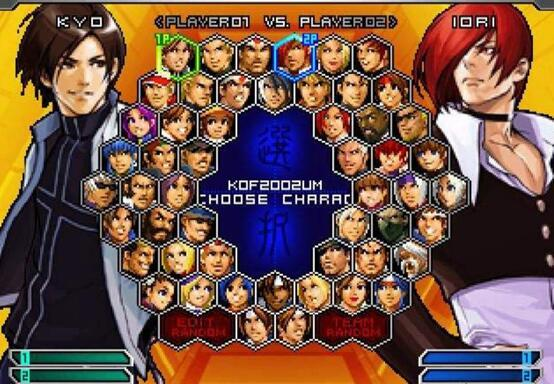 KOF Character select 2 N For Nerds