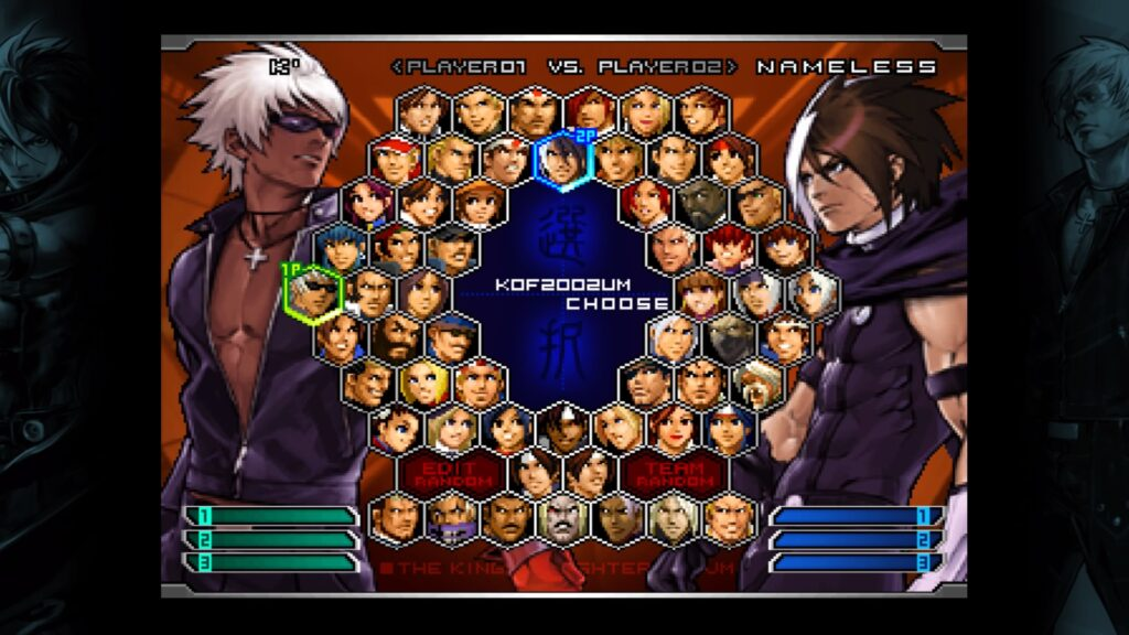 KOF Character select N For Nerds