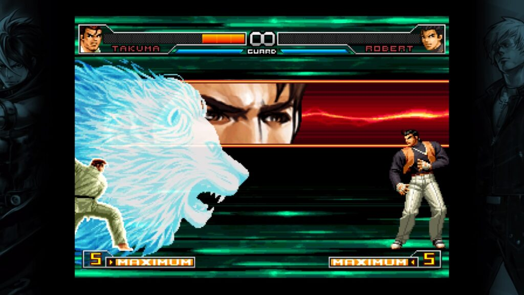 KOF Lion Attack N For Nerds