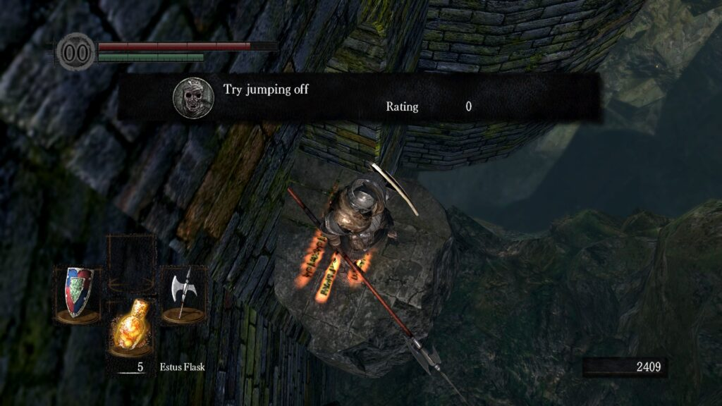 Dark Souls Jump N For Nerds