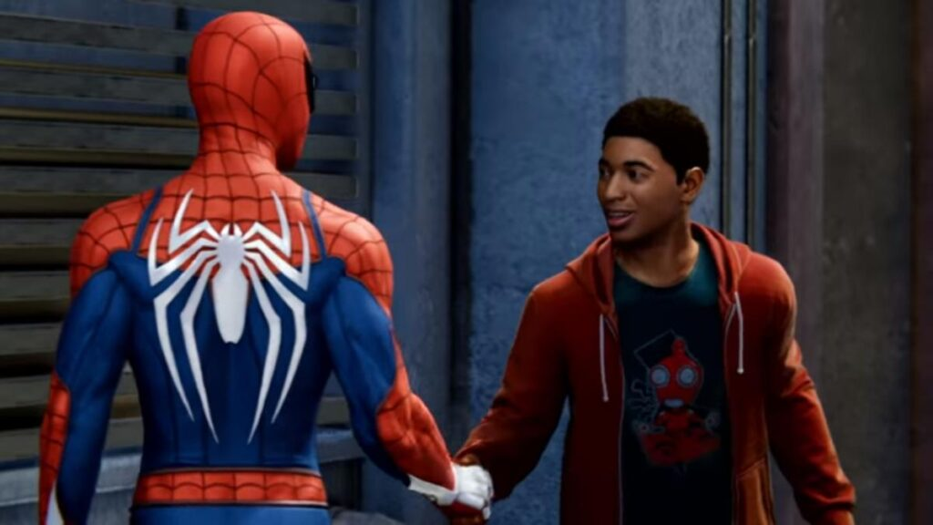 Spiderman Miles and Peter N For Nerds