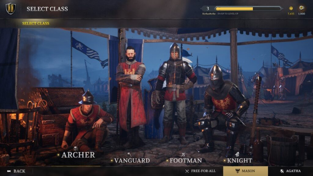 Chivalry 2 Classes N For Nerds