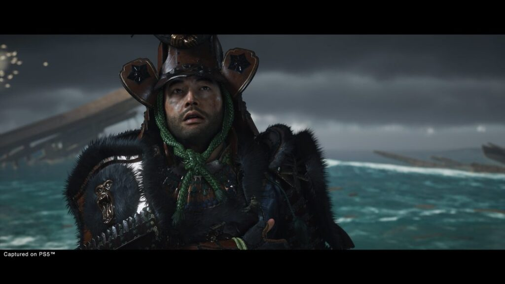 Ghost-of-Tsushima Jin Stare N For Nerds