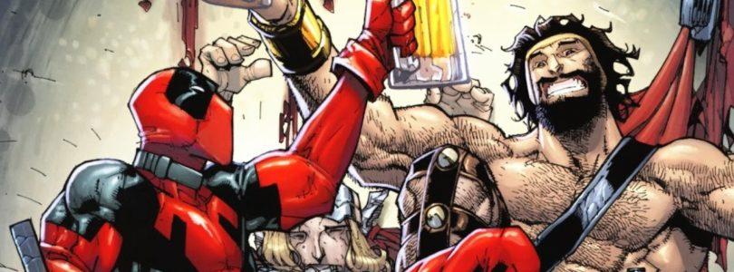 Deadpool comic n for nerds