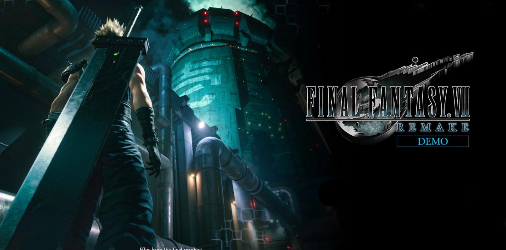 Final Fantasy Vii Remake Demo N For Nerds Official Blog